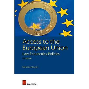 Access to the European Union by Nicholas Moussis - 9781780682587 Book