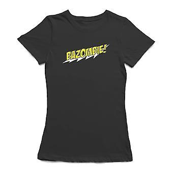 Bazombie! Comic Book Text Design Women's T-shirt
