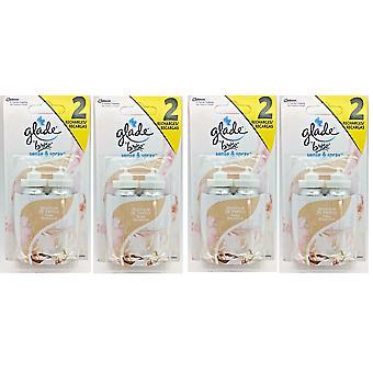 8 x Glade Sense and Spray Refill Vanilla 18ml