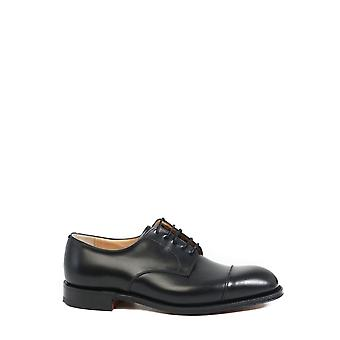 Church's Eeb0049wff0aab Men's Black Leather Lace-up Shoes