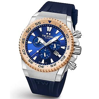 TW Steel ACE402 Diver Swiss Chronograaf Limited Edition horloge 44mm