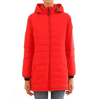 Canada Goose Cg5085l3111 Women's Red Polyester Outerwear Jacket