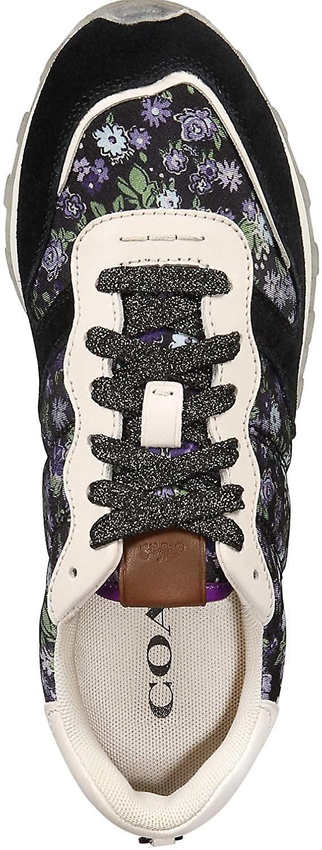 Coach C118 Femmes's Sneakers Taille 11 Black Chalk