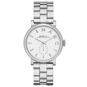 Marc Jacobs MBM3242 36mm Silver Steel Bracelet & Case Ladies Watch