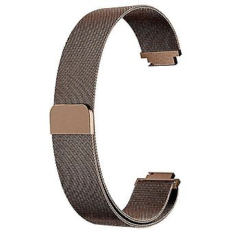 For Fitbit Inspire / Inspire HR Strap Milanese Band Stainless Steel Magnetic[Small (5.3