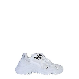 N°21 20esp000100001w001 Dames's White Polyester Sneakers