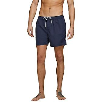 Jack & Jones Mens Jjiaruba Elasticated Swim Shorts