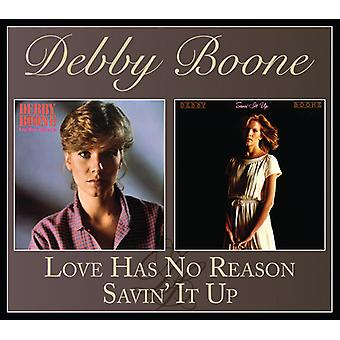 Boone*Debby - Love Has No Reason / Savin' It Up [CD] USA import