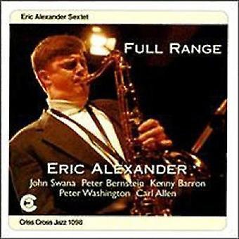 Eric Alexander - Full Range [CD] USA import
