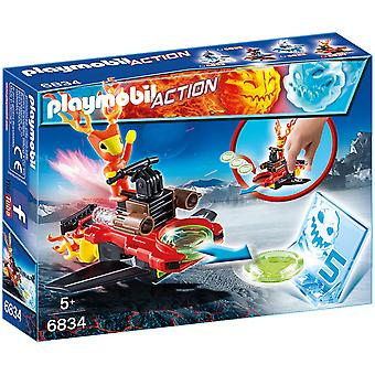 Playmobil 6834 Action Sparky med Disc Shooter