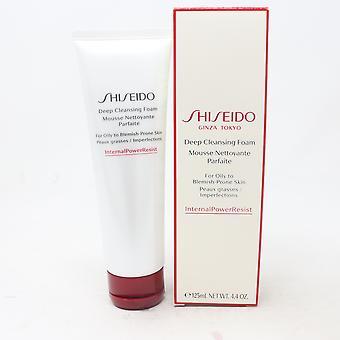 Mousse nettoyante en profondeur Shiseido 4.4oz/125ml Nouveau avec boîte