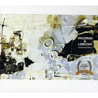 Friedman & Liebezeit - Secret Rhythms 4 [CD] USA import