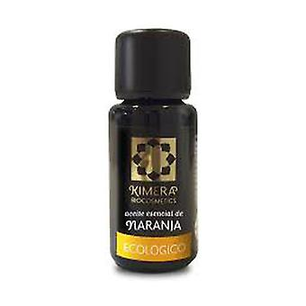 Organic Orange Essential Oil 100% Eco 15 ml of essential oil