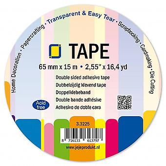 JEJE Produkt Double Sided Adhesive Tape 65 mm
