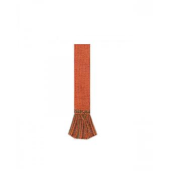 House of Cheviot Garter Ties Garter Ties ~ Burnt Orange & Ivy Green