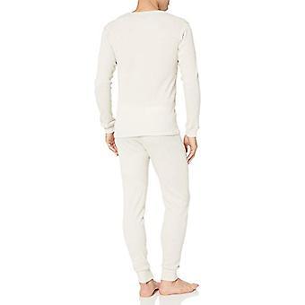 Essentials Men's Thermal Long Underwear Set, Natural, Large