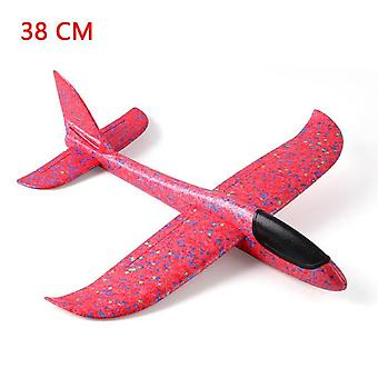 Outdoor Hand Throwing Plane Flying Launch Sports Glider Aircraft Fun Game for Boys Children