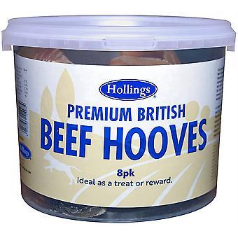 Hollings Premium British Beef Hooves Tub (8 Pack)