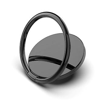 スタッフ認定®磁気ポップグリップ電話ボタン吸引カップグリップホルダーブラケットボタンキックスタンドブラック