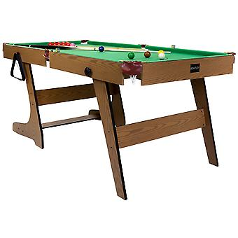Charles Bentley 6ft Premium Pub Style Snooker & Pool Games Table