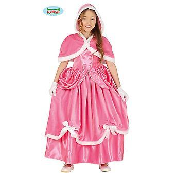 Prenses Kostüm Kış Prenses Pembe Çocuk Kostüm Çocuk Elbise Kostüm