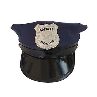 Octagon Police Cap Occupations Toys- Classic Adults Police Military Hat Stage Show Cap For Party Cosplay Performance Masquerade