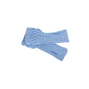 House of Cheviot Ladies Ladies Wrist Warmers ~ Bluebell