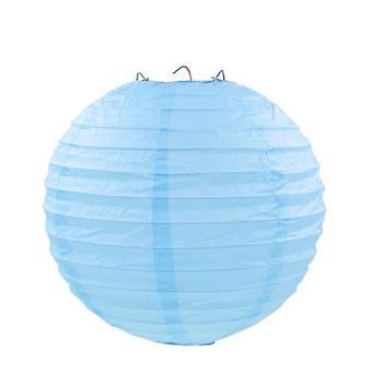 ورقة دائرية الفوانيس الحرفية Diy Lampion شنقا الكرة
