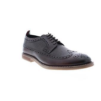 Ben Sherman Brik Long Wing  Mens Oxfords & Lace Ups Wingtip & Brogue Shoes