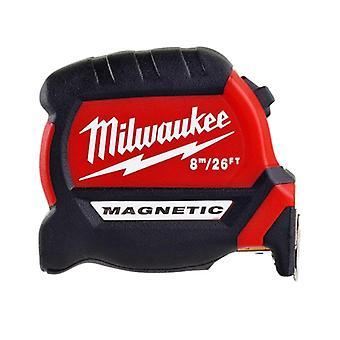 Milwaukee GEN III Magnetic Tape Measure 8m/26ft (Width 27mm)