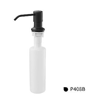 400ml Stainless Steel, Deck-mounted Liquid Soap Dispenser