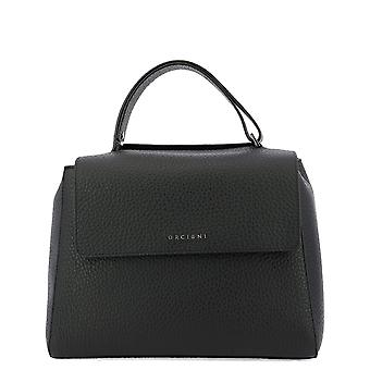 Orciani Bt2006softnero Women's Black Leather Handbag