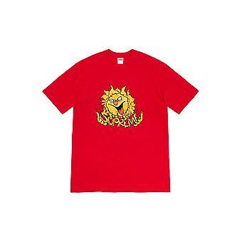 Supreme Sun Tee Red - Clothing
