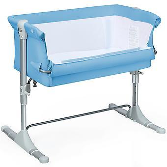 Bedside Sleeping Crib Infant Travel Cot Sleeper Baby Sleeping Bed Adjustable