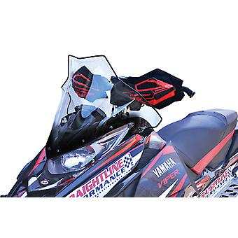 "Powermadd 14530 Viper Mid Clear with Black 17"" Fits Yamaha SR"
