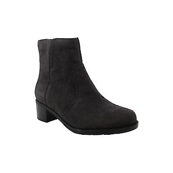 Easy Spirit Womens Novel Leather Closed Toe Ankle Fashion Boots