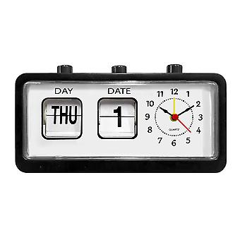 Alarm Clock, Retro - Black