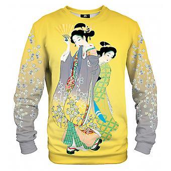 Mr Gugu Miss Go CHERRY BLOSSOM TITTAR bomull tröja