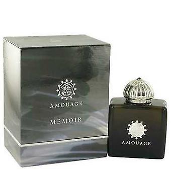 Amouage Memoir By Amouage Eau De Parfum Spray 3.4 Oz (women) V728-515259