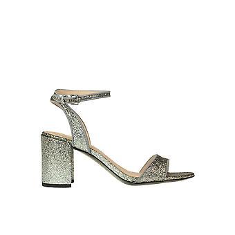 Ash Ezgl040104 Frauen's Silber Glitter Sandalen
