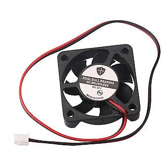 24V DC tér műanyag hűtőventilátor nagy konverziós alkatrészek fekete 9746RPM