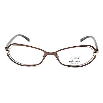 Ladies'Spectacle frame Guess Marciano GM124-BRNGLD Brown Golden (ø 52 mm)
