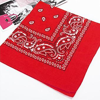 55cm*55cm Fashion Hip Hop Bandana Square Scarf & Paisley Headband Printed