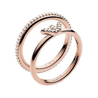Emporio Armani - Ring - Ladies - EG3462221 - ESSENTIAL Ring width 56