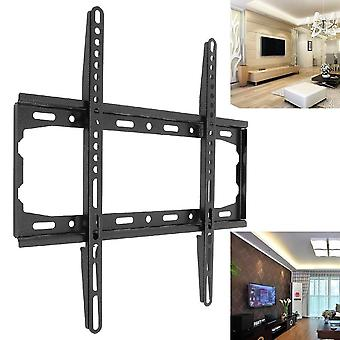 Universal Wall Mount Tv Bracket, Fixed Flat Panel For 26-55 Inch Lcd/led