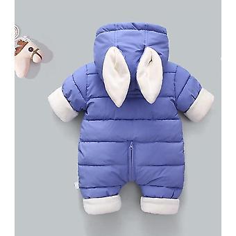 Winter Thicken Snowsuit, Ropa de bebé acolchada en algodón