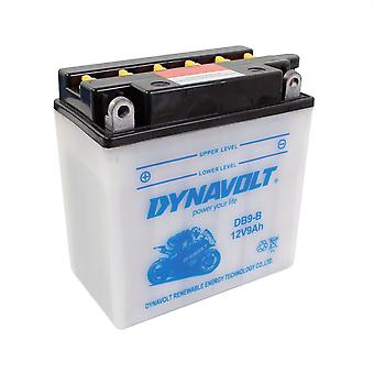 Dynavolt CB9B High Performance Battery With Acid Pack
