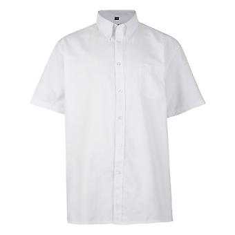 KAM Jeanswear Short Sleeve Oxford Shirt