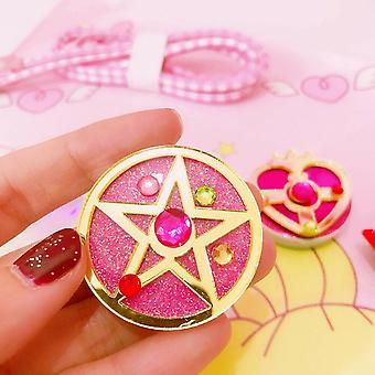 Universal Sailor Moon Telefon Stretch Halterung Cartoon Finger Ring Halter Sockel