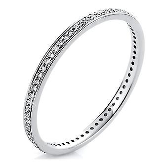 Luna Creation Infinity Ring Memoire voll 1A426W456-1 - Ringweite: 56
